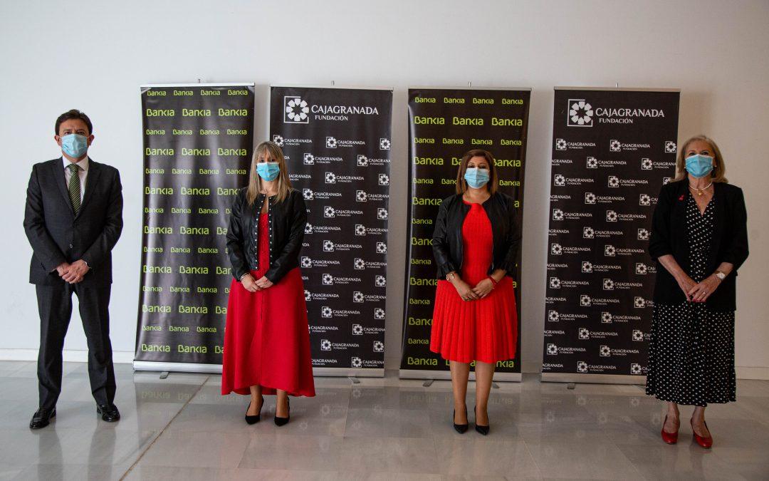 Bankia y CajaGranada Fundación colaboran con la actividad  de Fermasa en la organización de ferias empresariales