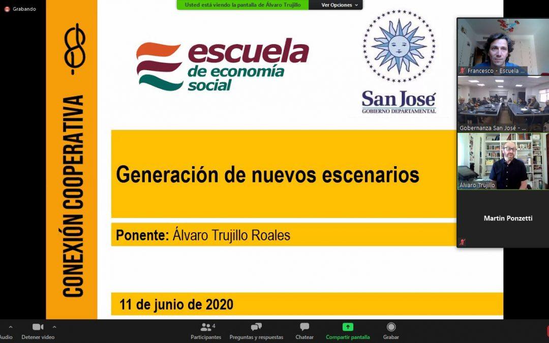 La Escuela de Economía Social imparte una formación al Departamento Gubernamental de San José, Urugay