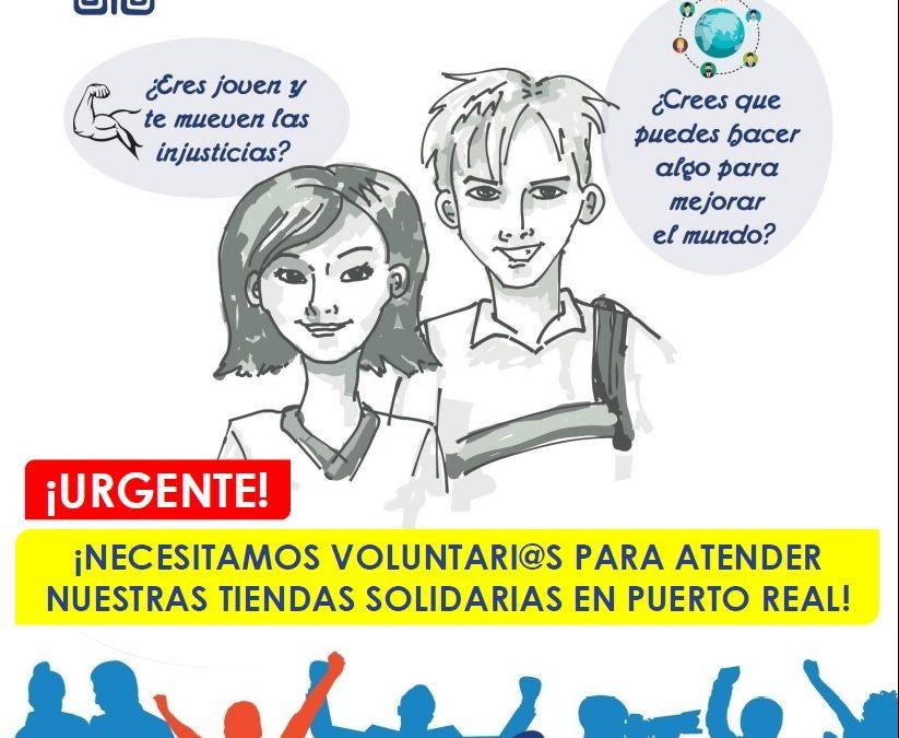 Madre Coraje reanuda su actividad en Puerto Real y anima a hacer voluntariado a menores de 70 años