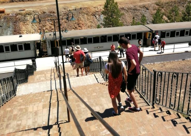 El Parque Minero de Riotinto vuelve a llenarse de vida