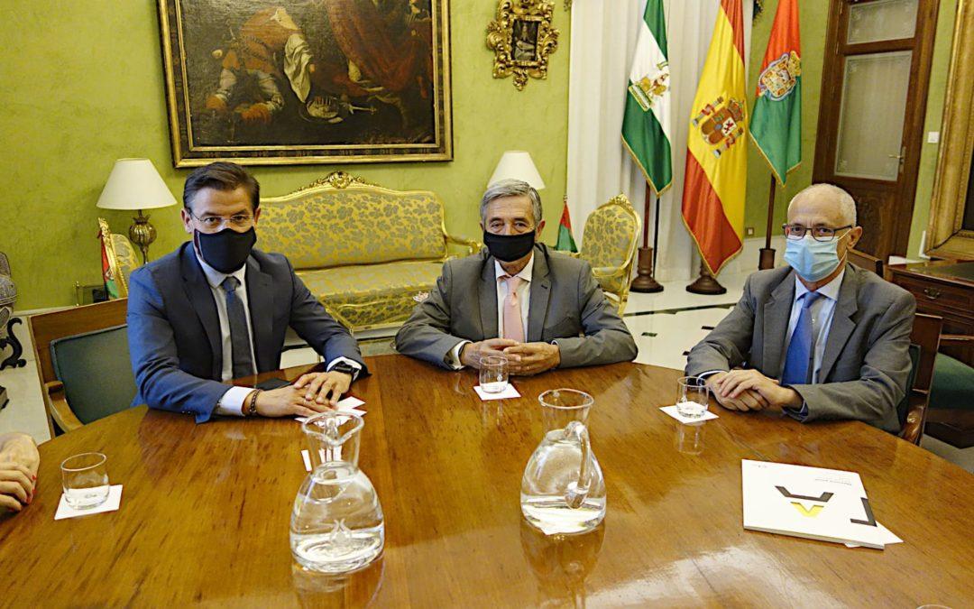 El alcalde de Granada y el presidente de CTA analizan oportunidades de colaboración para estimular la innovación y el desarrollo tecnológico en la ciudad