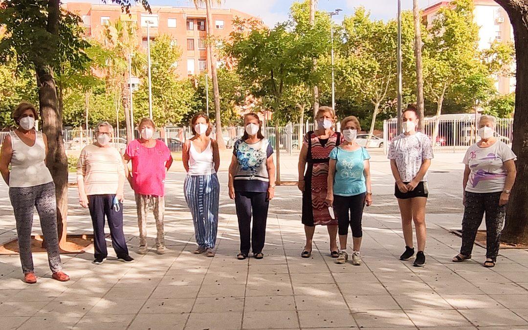 Más de cien personas participan en la iniciativa #MayoresalParque, un proyecto de la Fundación Doña María y el Ayuntamiento de Sevilla
