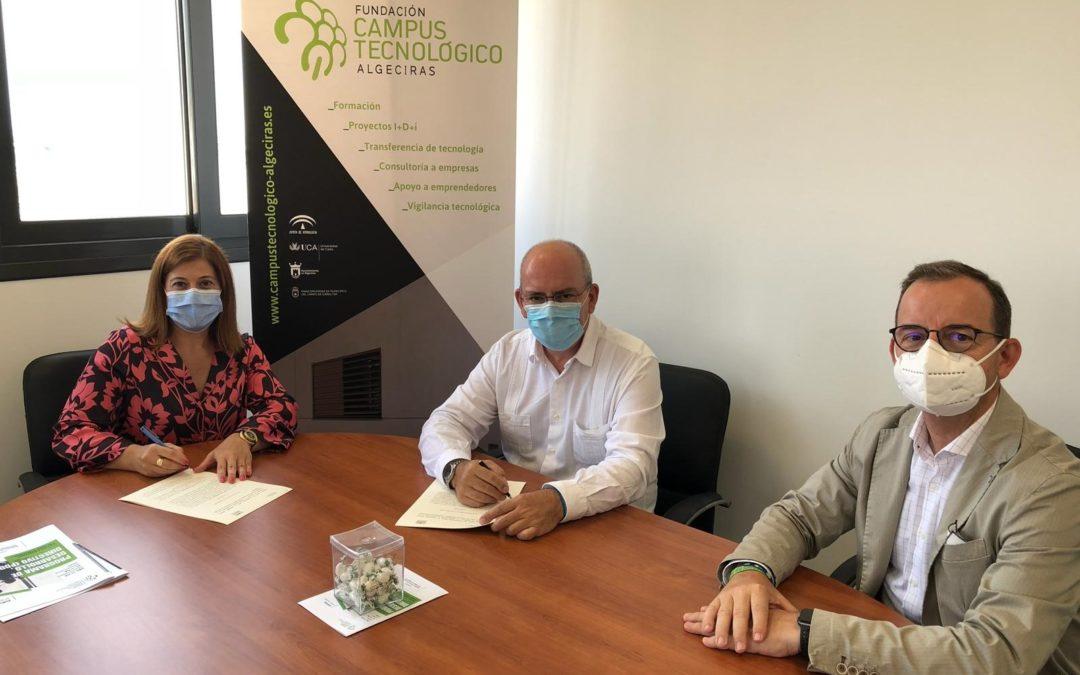 La Fundación Campus Tecnológico firma un convenio de colaboración con la Confederación de Empresarios de la provincia de Cádiz para promover nuevas acciones conjunta