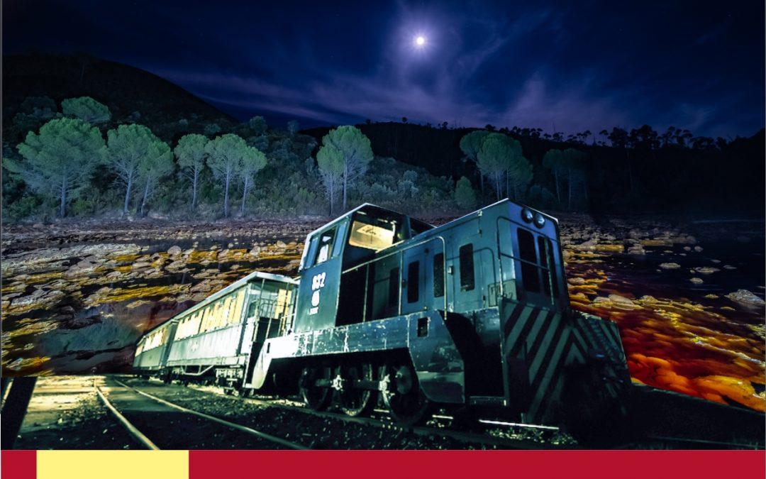 El Tren de la luna se suma a #ElVeranodelTinto en el Parque Minero de Riotinto