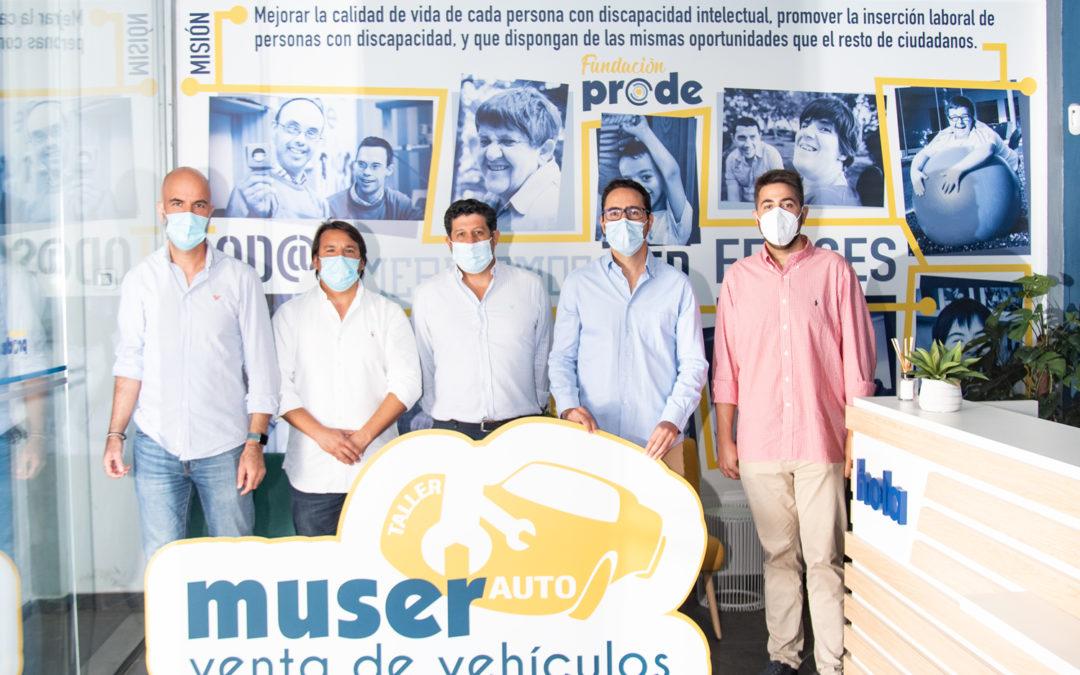 Muser Auto Venta de vehículos, de Fundación Prode, se une al proyecto del Dobuss Córdoba Basket