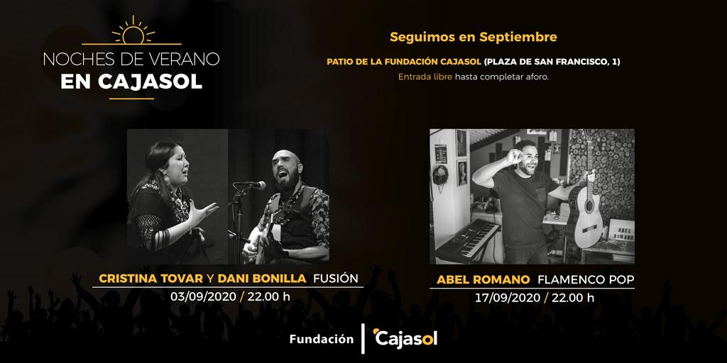 """Las """"Noches de Verano Cajasol"""" en Sevilla… ¡también en Septiembre!"""