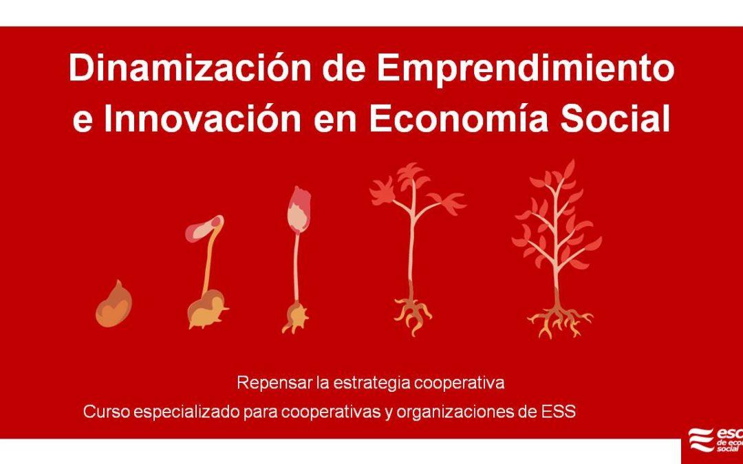 La Escuela de Economía Social continúa su actividad formativa con la programación de nuevas formaciones virtuales a desarrollar en las próximas semanas
