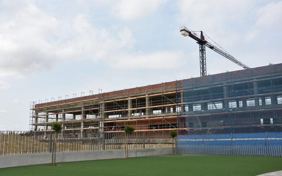 Las obras de ampliación del Colegio CEU San Pablo Sevilla avanzan a buen ritmo