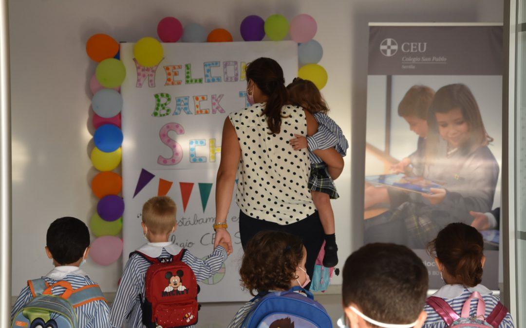 Los alumnos de Educación Infantil del Colegio CEU San Pablo Sevilla inician el curso