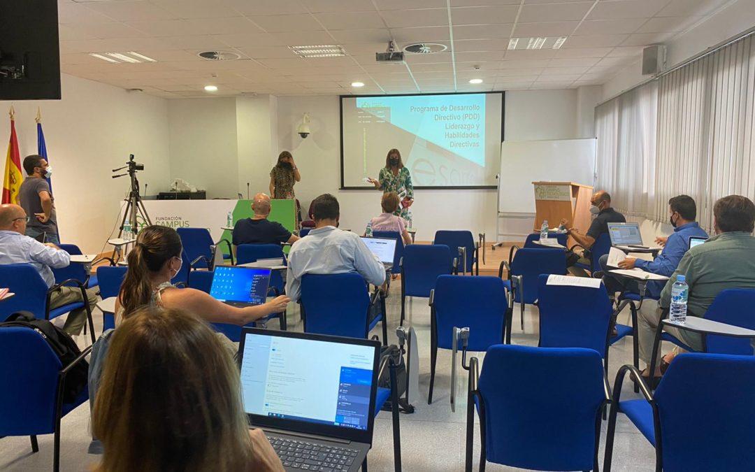 El Edificio I+D+i acoge la primera sesión del programa pionero en el Campo de Gibraltar sobre Desarrollo Directivo
