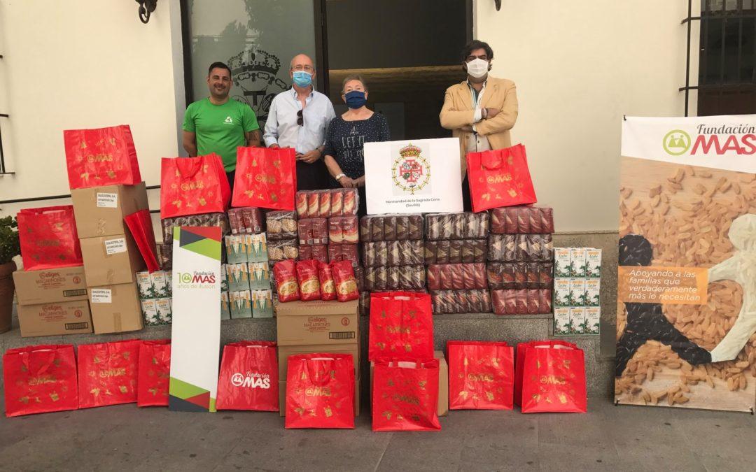 El programa 200.000 kilos de Ilusión de Grupo MAS suma 90.000 kilos más gracias a las donaciones de sus proveedores