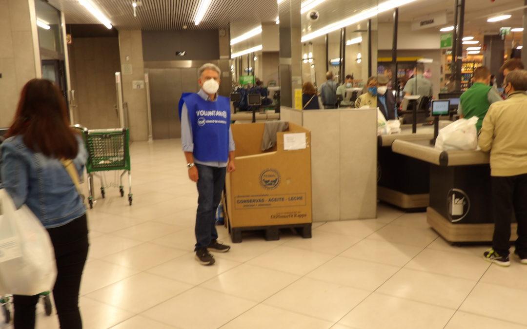 La Operación Kilo especial para alimentos infantiles consigue unos 45.000 kilos para el Banco de Alimentos