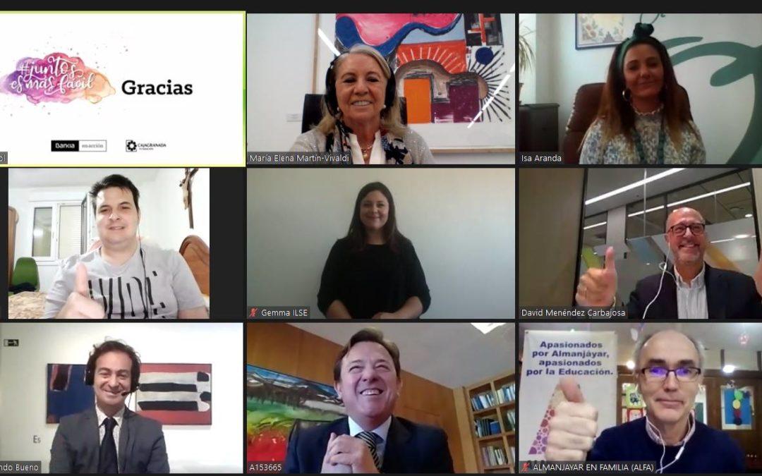 Bankia y CajaGranada Fundación reconocen en un acto virtual  los 86 proyectos sociales apoyados con 250.000 euros