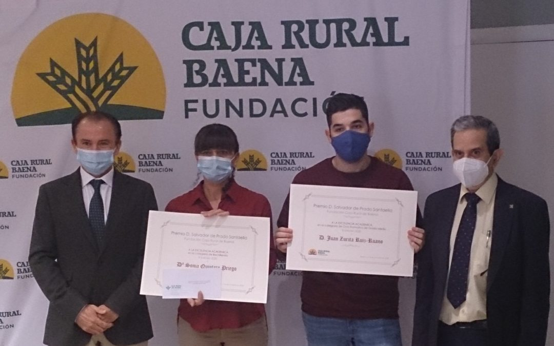 Premios Don Salvador de Prado Santaella de la Fundación Caja Rural de Baena edición de 2020
