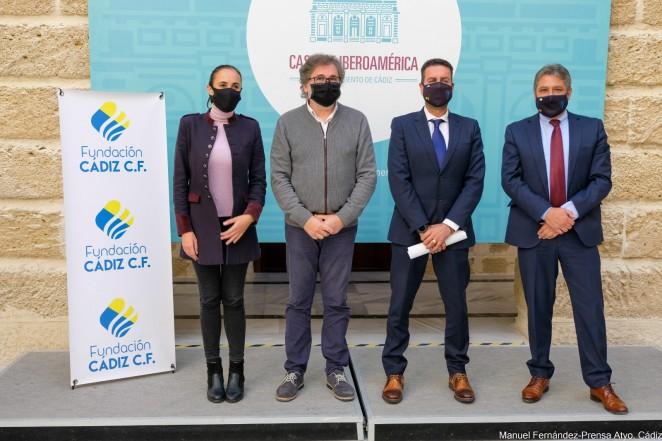 El Ayuntamiento de Cádiz colaborará con la Fundación Cádiz Club de Fútbol para fomentar la lectura entre toda la población