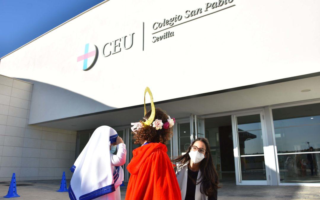 El Colegio CEU San Pablo Sevilla celebra el Día de Todos los Santos