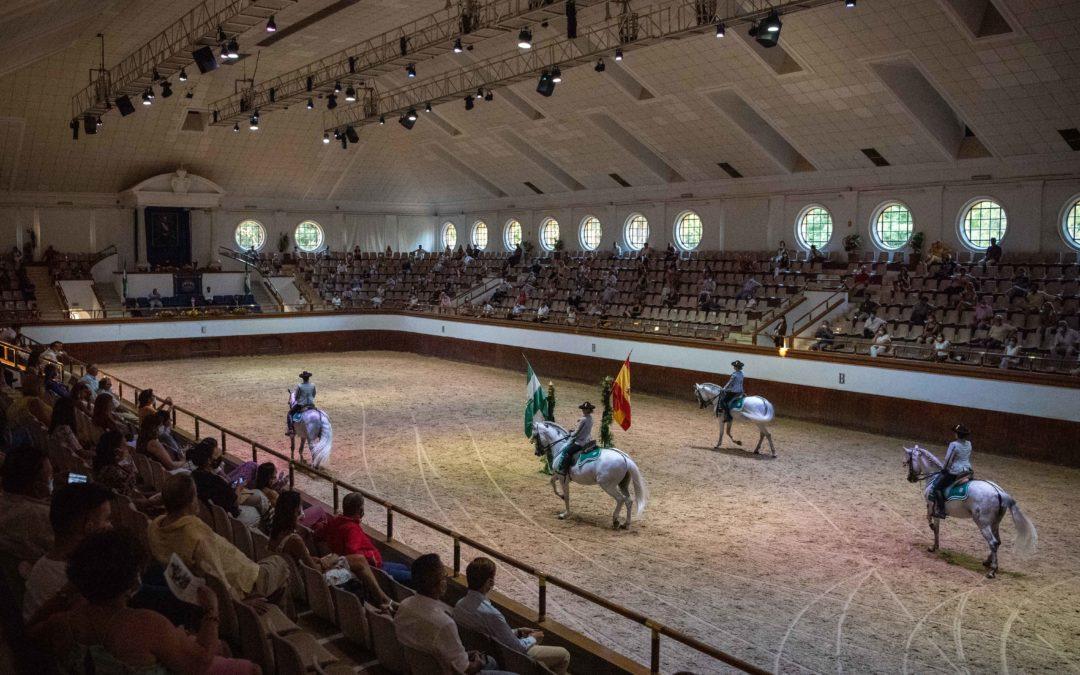 La Real Escuela Andaluza del Arte Ecuestre recibe a 23 alumnos de nuevo ingreso en sus cinco especialidades formativas