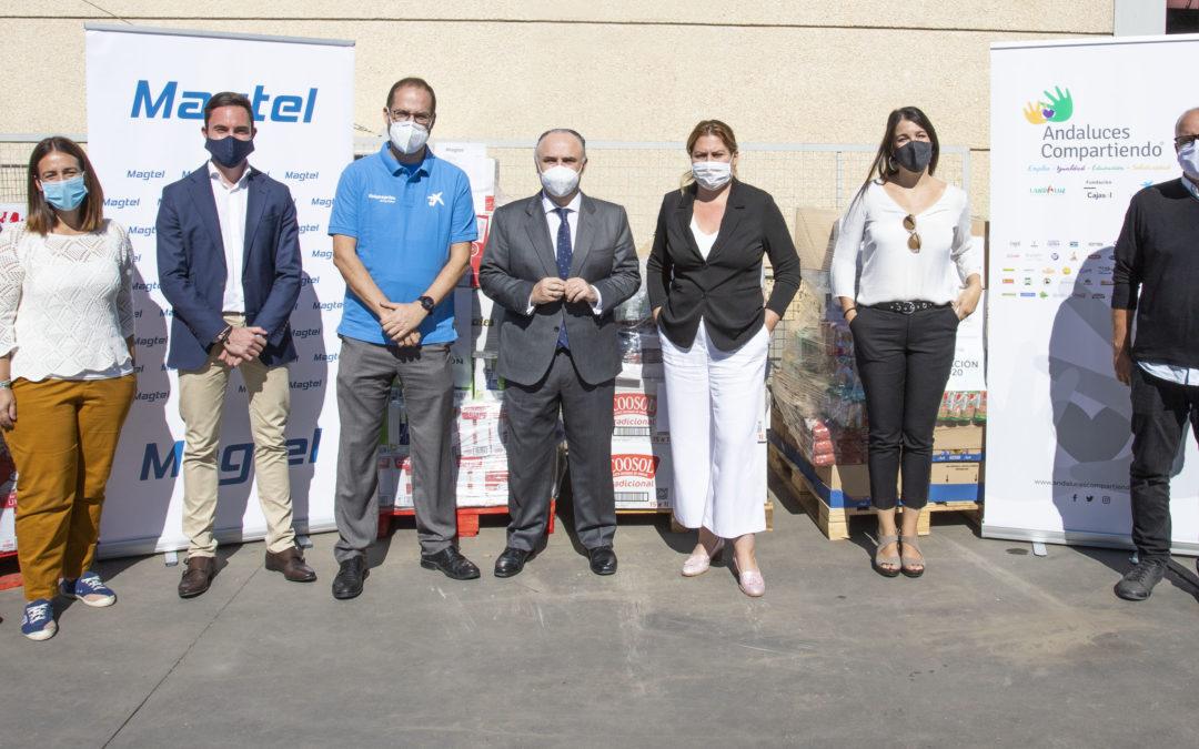 Fundación Magtel colabora con Landaluz, Fundación Cajasol y Fundación 'la Caixa' en la nueva campaña de recogida de alimentos 'Andaluces Compartiendo'