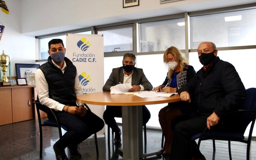La Fundación Cádiz CF y Madre Coraje se vuelven a unir para promover y concienciar sobre las acciones sociales de la ONG