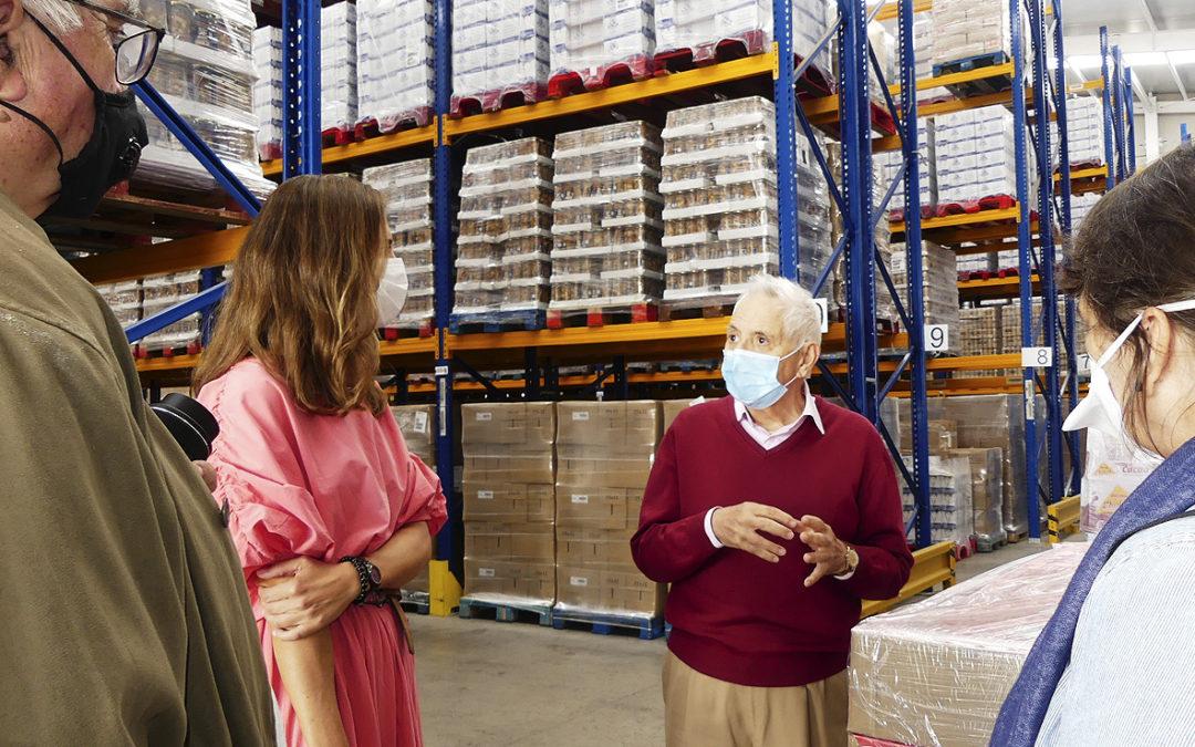 El Hospital La Arruzafa dona otras 7,4 toneladas de comida al Banco de Alimentos Medina Azahara de Córdoba