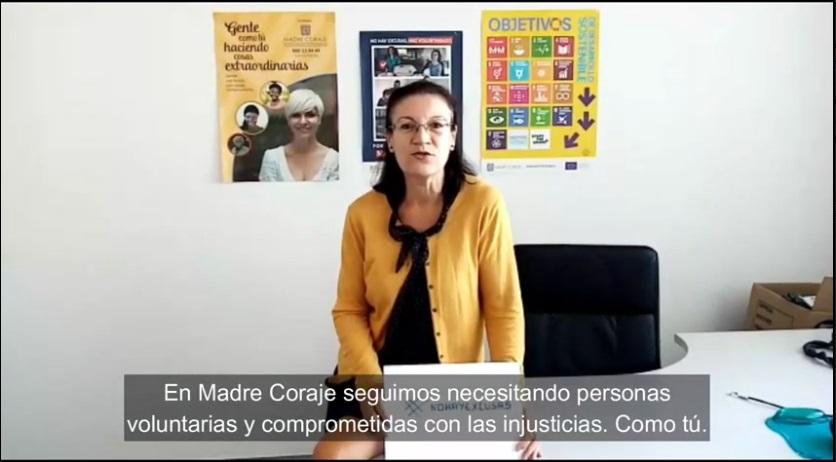 Llamamiento SOS: Madre Coraje necesita personas voluntarias para recuperar el ritmo de su actividad por la crisis del Covid-19