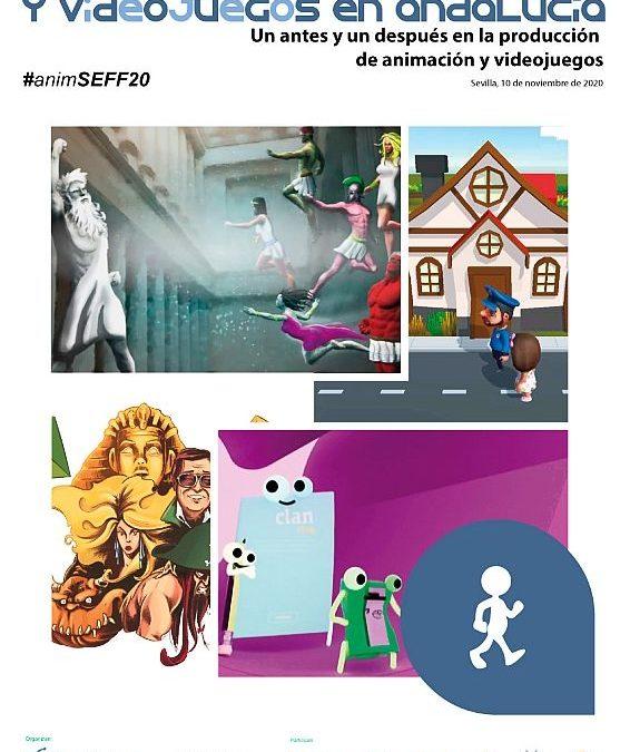 """AVA la XVIII edición del Encuentro de Animación y Videojuegos en Andalucía, """"Un antes y un después en la producción de animación y videojuegos"""""""