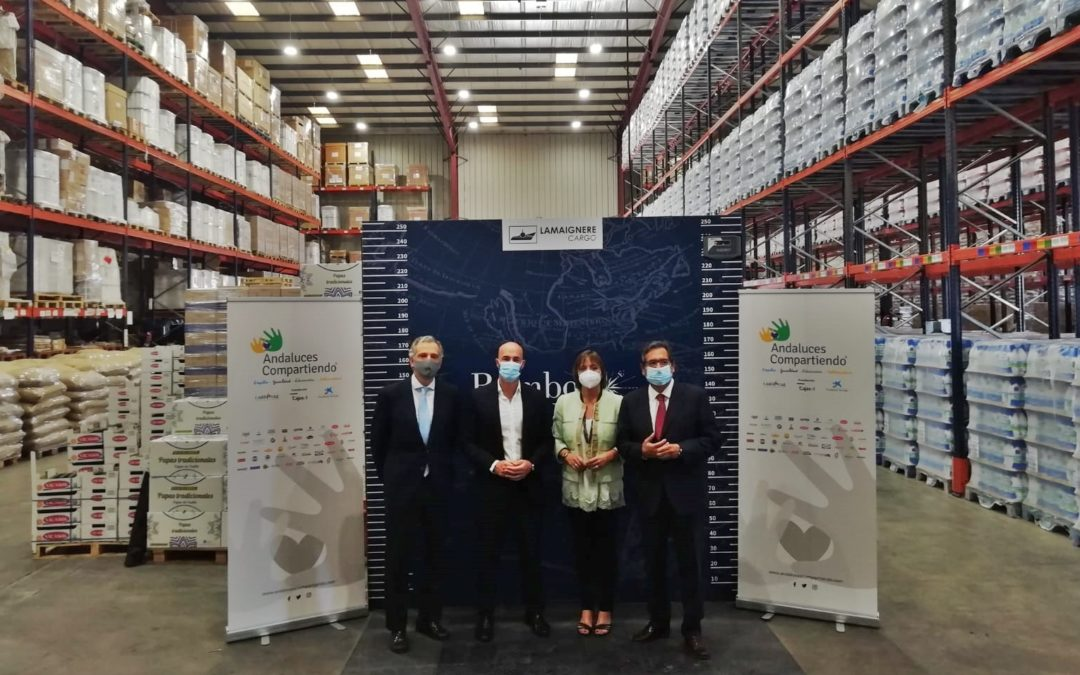 Por segundo año consecutivo, Fundación Lamaignere es socio logístico de 'Andaluces compartiendo'