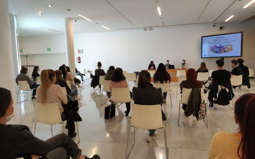 El Museo Memoria de Andalucía acoge la presentación del libro de mApp My Europe