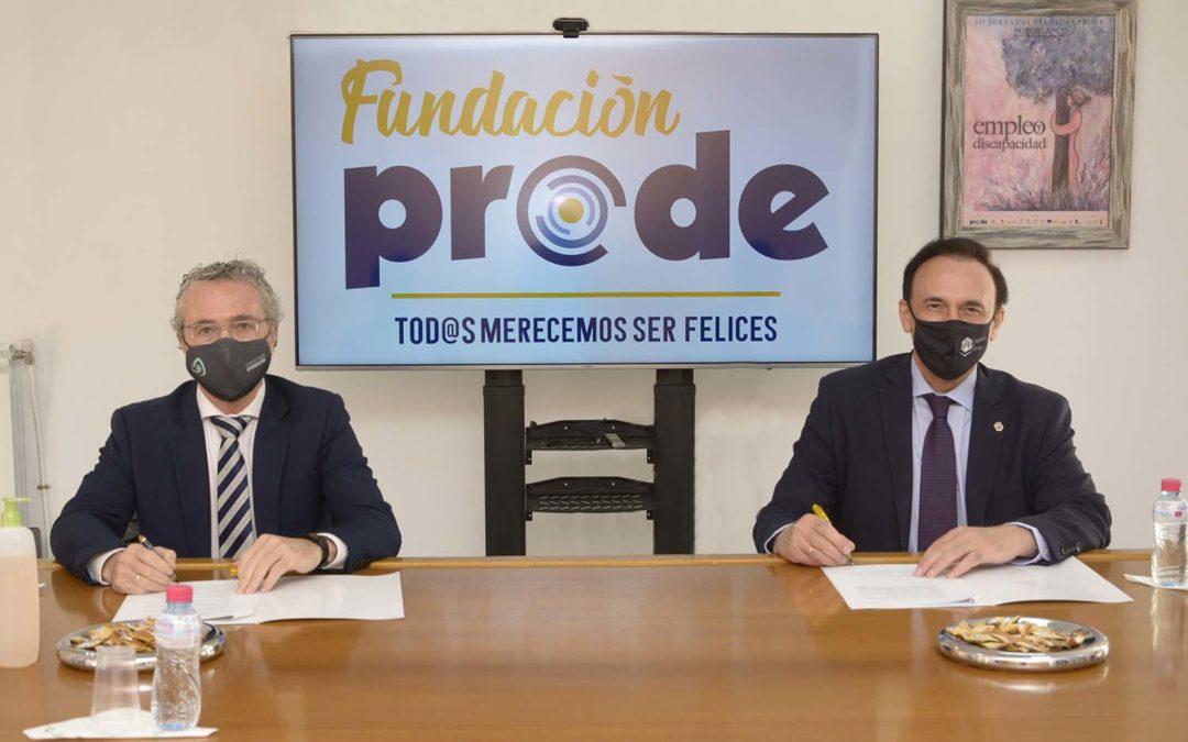 Fundación Prode y la Universidad de Córdoba firman varios Convenios en beneficio de las personas con discapacidad