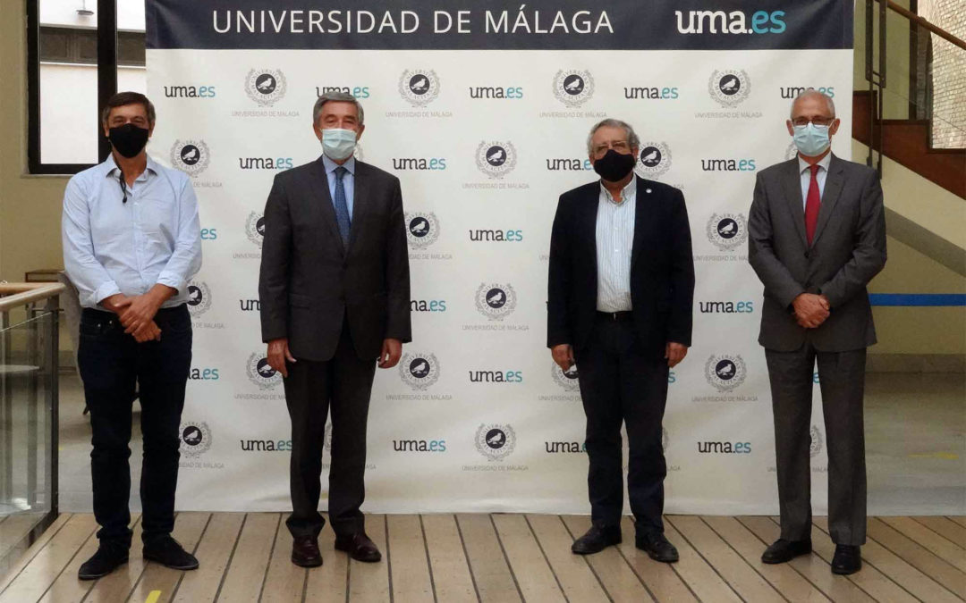 El rector de la UMA y el presidente de CTA se reúnen para promover la transferencia Universidad-Empresa