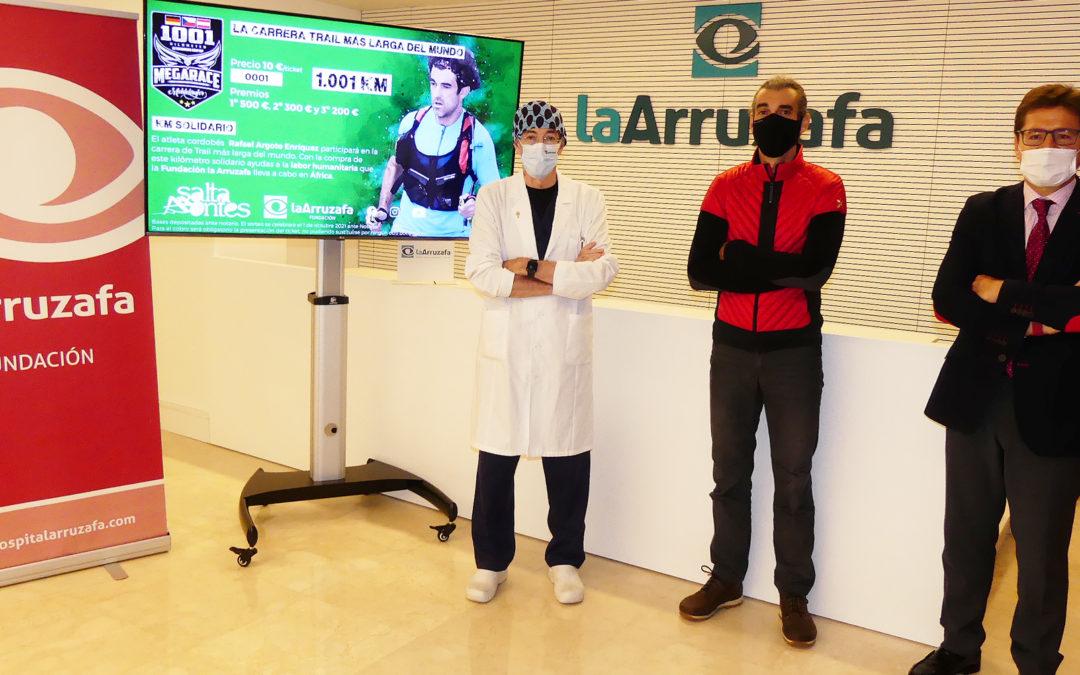 Rafael Argote participará en la 'trail' más larga del mundo para recaudar fondos destinados a la Fundación La Arruzafa