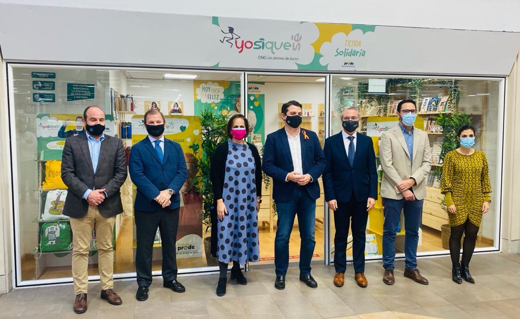 El Centro Comercial Zahira colabora con  Fundación PRODE