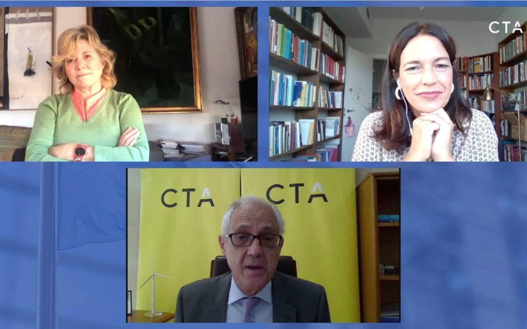"""Las eurodiputadas Lina Gálvez y Pilar del Castillo animan a las empresas andaluzas a preparar """"buenos proyectos"""" para captar el Fondo Next Generation EU"""