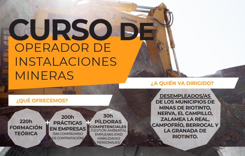 La Fundación Atalaya ofrece un curso gratuito de formación minera para desempleados de la Cuenca Minera