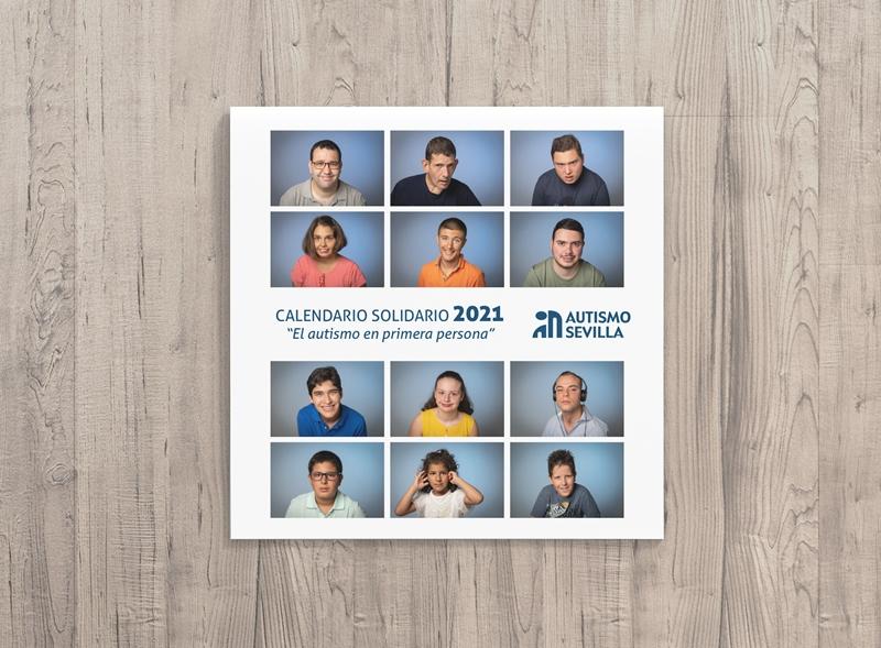 """Autismo Sevilla presenta su Calendario Solidario 2021 """"El Autismo en primera persona"""", con la mirada de 12 personas con TEA como protagonistas"""