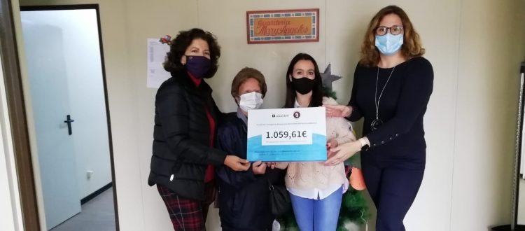 Fundación Lamaignere hace entrega de la recaudación de la campaña de Navidad gracias a las colaboraciones