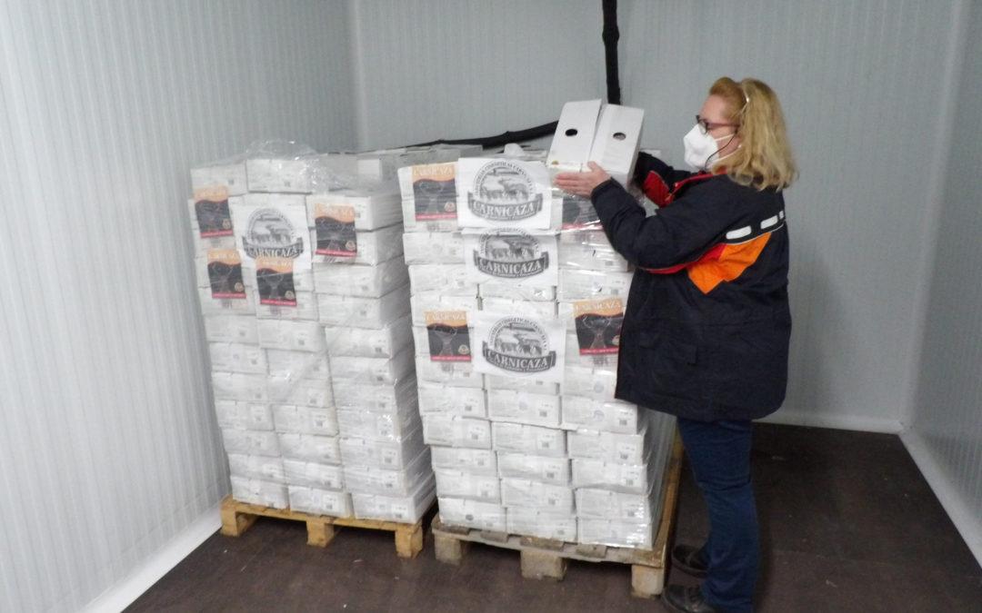 Más de mil doscientos kilos de carne de Caza Solidaria para el Banco de Alimentos Medina Azahara de Córdoba