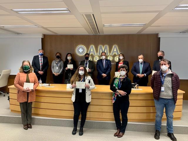 Reconocimiento de Fundación A.M.A. a proyecto de Upacesur