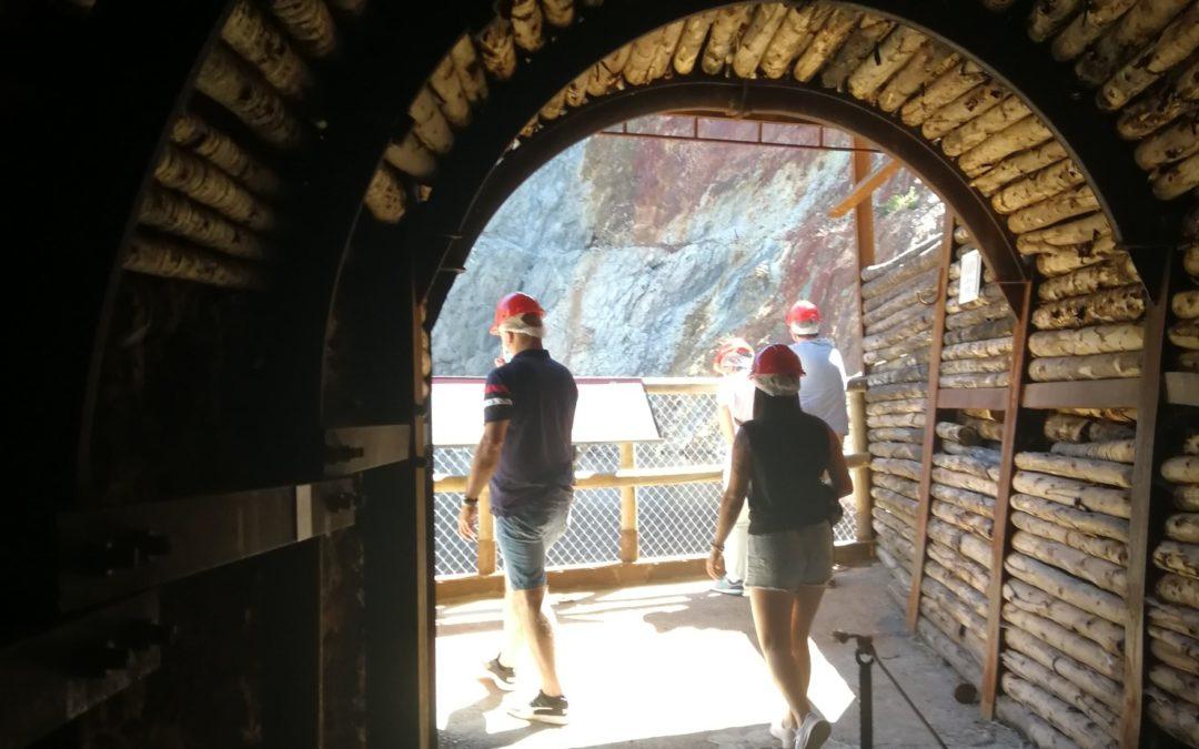 El Parque Minero de Riotinto recibió 41.803 visitantes en 2020