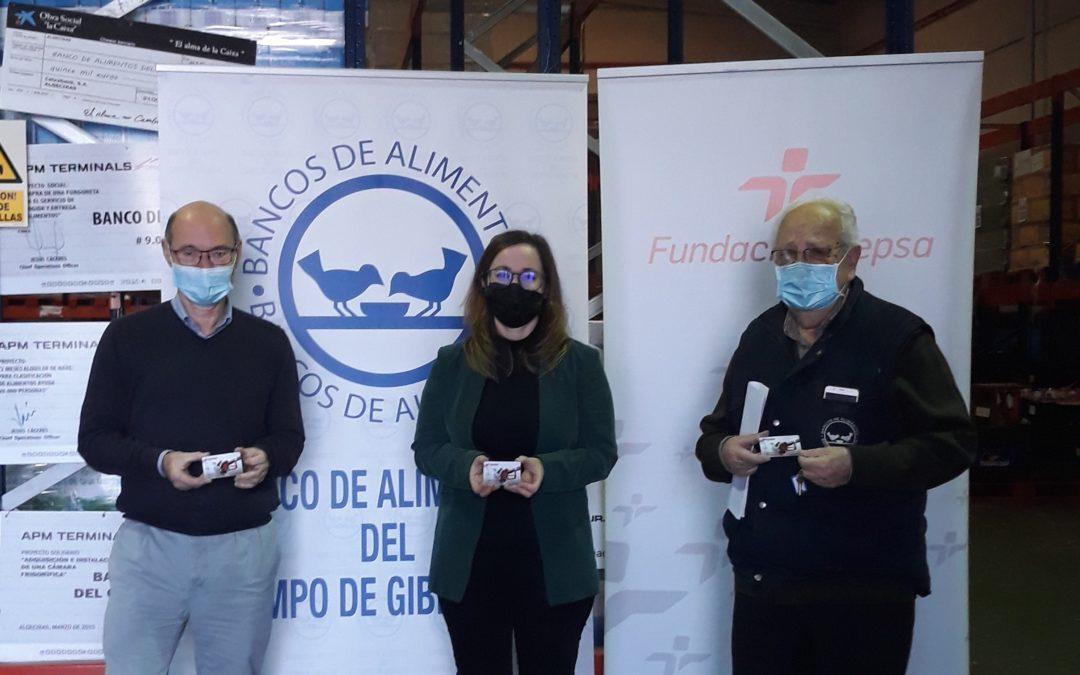 Fundación Cepsa dona tarjetas de combustible al Banco de Alimentos del Campo de Gibraltar