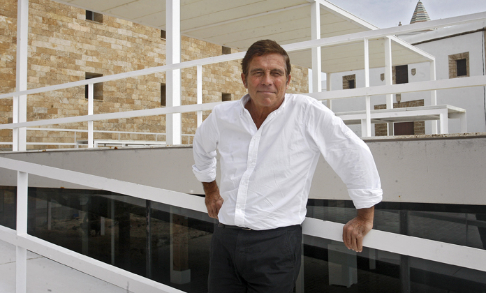 Alberto Campo Baeza, arquitecto del Centro Cultural CajaGranada y del Cubo de Bankia, galardonado con el Premio Nacional