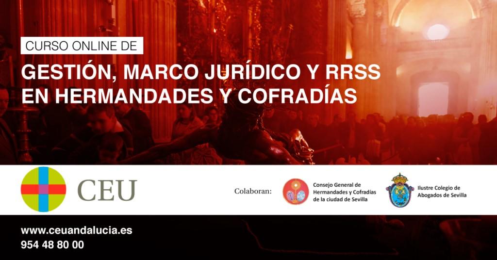 Nueva edición del curso online de Hermandades y Cofradías de CEU Andalucía