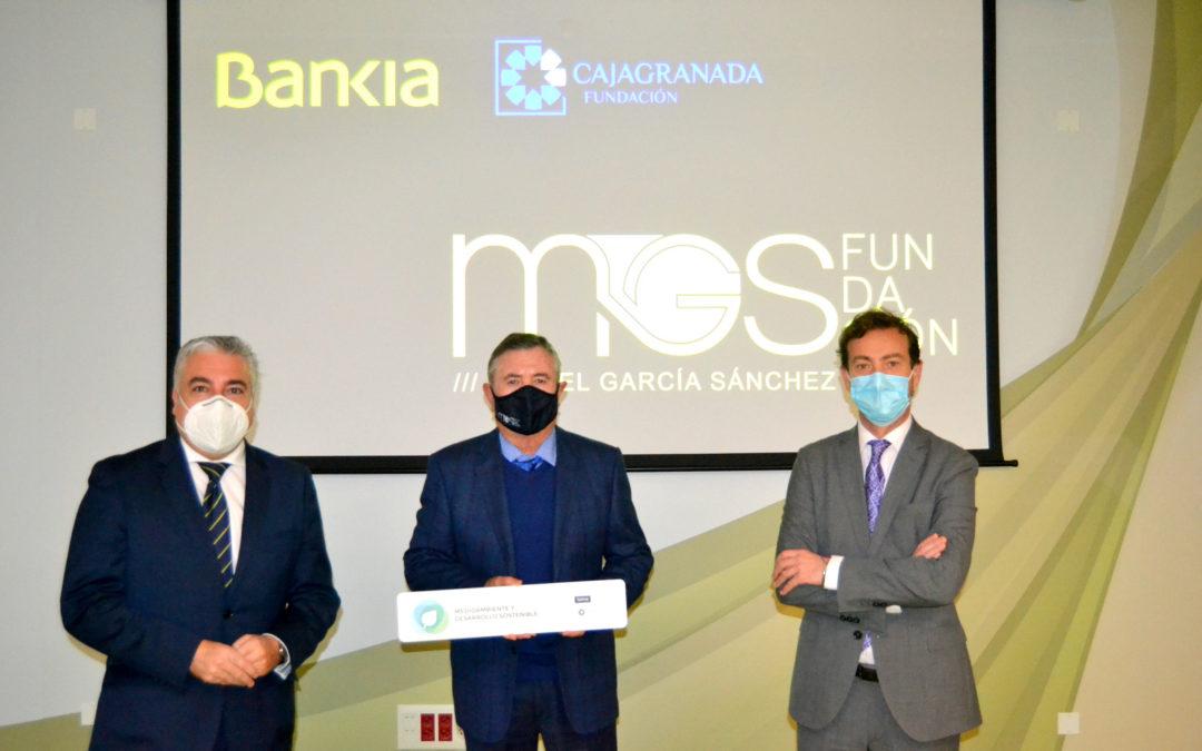 Bankia y CajaGranada Fundación reconocen con 10.000 euros  un proyecto medioambiental de la Fundación Miguel García Sánchez