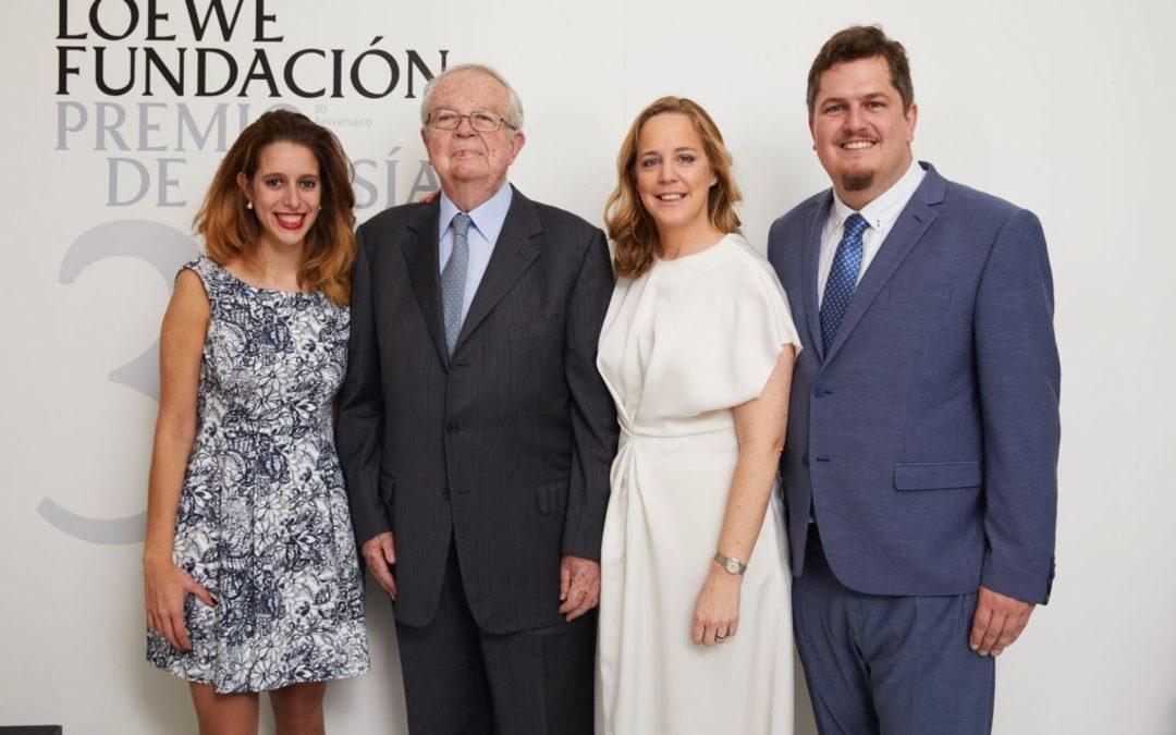 La Fundación Antonio Gala se une a la Fundación Loewe para apoyar a los jóvenes poetas