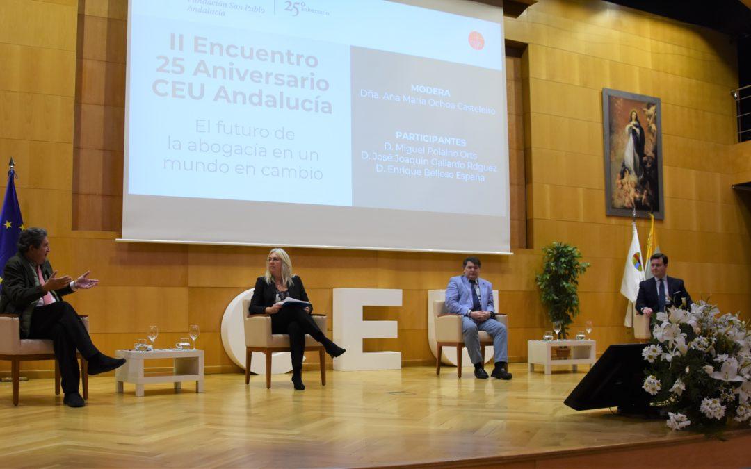 El futuro de la abogacía, a debate en CEU Andalucía