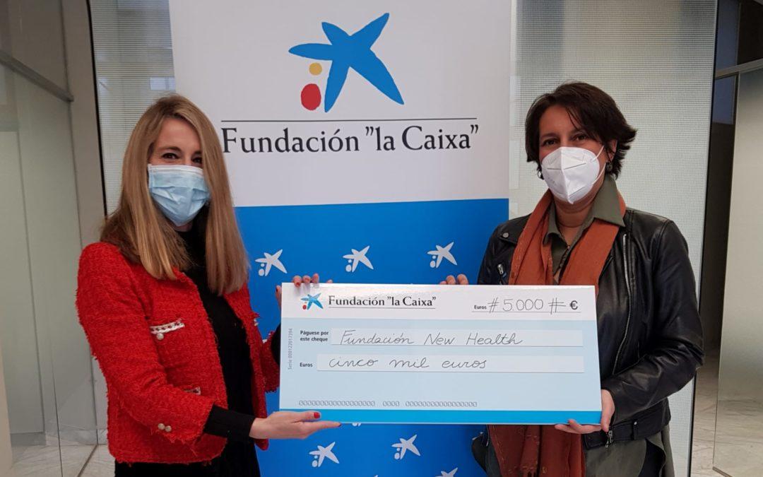 """Fundación """"la Caixa"""" apoya la nueva línea de la Fundación New Health para prestar ayudas directas (servicios de ayuda a domicilio, fisioterapia, etc.) a personas con enfermedad avanzada y al final de la vida"""