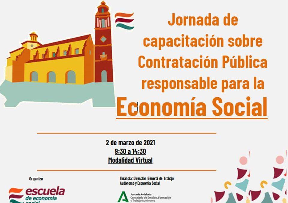 Escuela de Economía Social organiza la Jornada de capacitación sobre contratación pública Responsable para la Economía Social