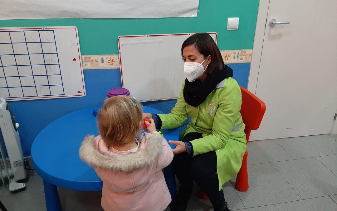 El Servicio de Atención Infantil Temprana de Fundación TAS atiende a 285 menores a lo largo del año 2020