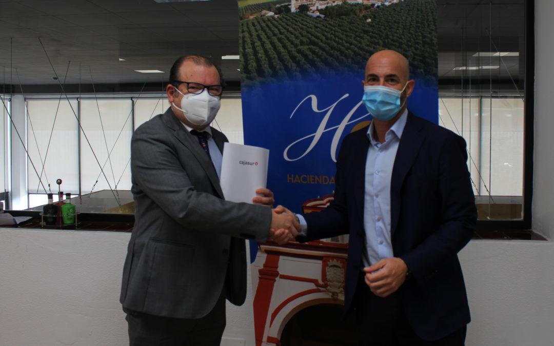 La Fundación Juan Ramón Guillén y la Fundación Cajasur colaborarán en un proyecto editorial sobre la historia  olivarera de la Hacienda Guzmán