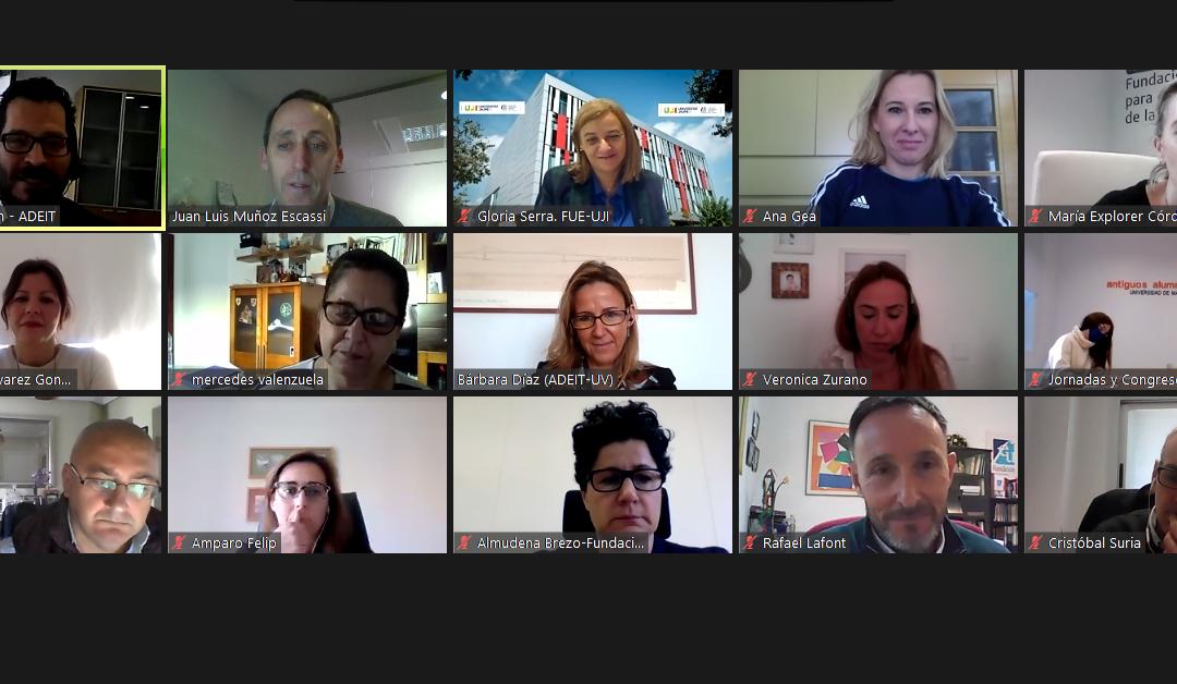 Reunión del Grupo de Trabajo de Fundaciones Universitarias Andaluzas y Valencianas